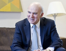 The Rt Hon Sir Vince Cable