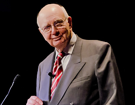 Paul A. Volcker speaker video search thumbnail